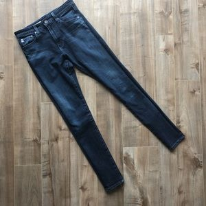 AG Adriano Goldschmied Farrah high rise jeans